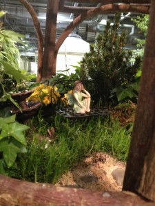 The  Fairy Frolic Garden by Vandermeer Nurseries features some charming fairy garden vignettes